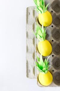 пасхальные яйца - ананасы