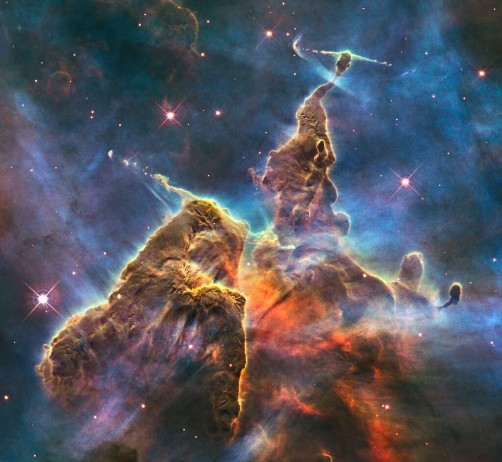 Звездное скопление HH 901, HH 902